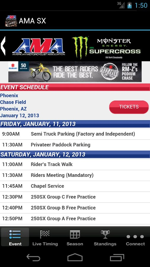AMA Supercross- screenshot