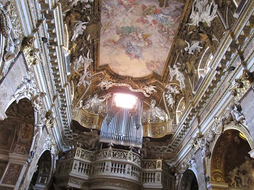 Santa Maria della Vittoria in Rome, Italy.