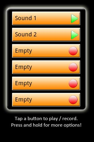 My Sounds! ( Make A Ringtone ) - screenshot