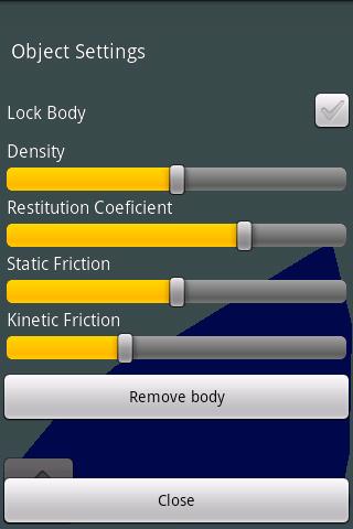 Flingbox - screenshot
