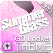 Pink Summer GO Locker Theme