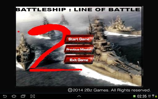 Battleship : Line Of Battle 2.