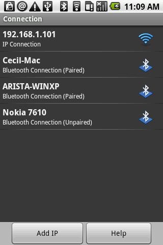 i-Clickr Lite - screenshot
