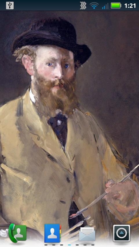 Édouard Manet Live Wallpaper- screenshot