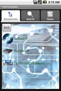 Technology Guide- screenshot thumbnail
