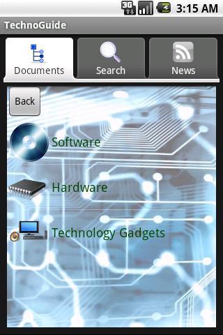 Technology Guide- screenshot