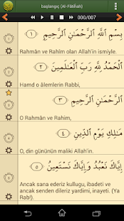 Türkçe Kur'an-ı Kerim screenshot