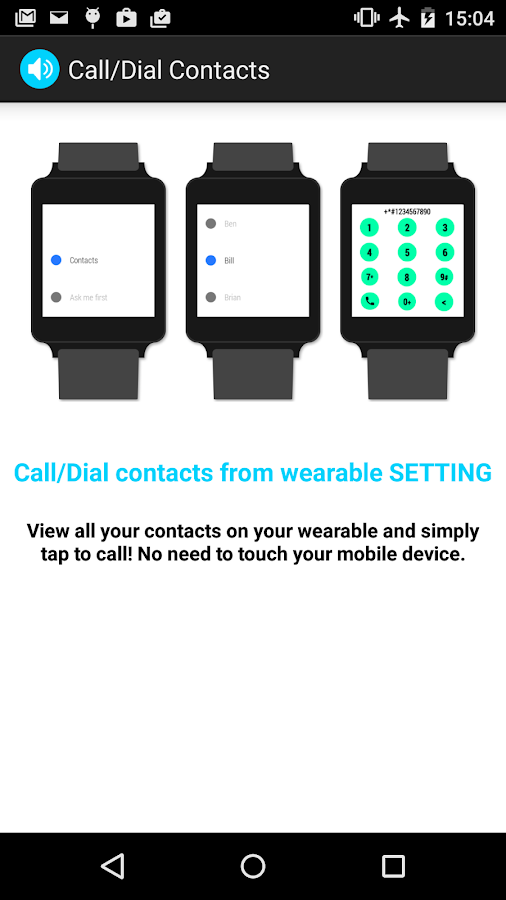 Wear Speaker - screenshot