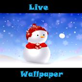 Live Wallpaper SnowmanSnowball