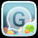 GO SMS PRO ICOLOR GLASS THEME icon