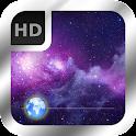 Magic Galaxy Lockscreen Free icon