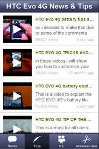 HTC Evo 4G News & Tips screenshot 3