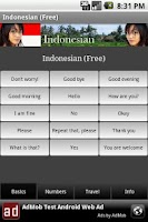 Screenshot of Indonesian (Free)
