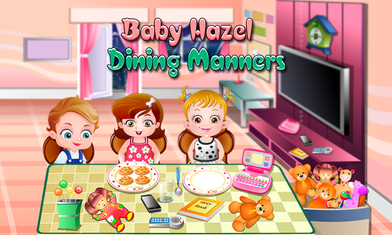 Baby Hazel Dining Manners- screenshot