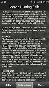 Moose Hunting Calls- screenshot thumbnail