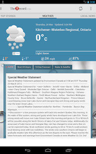 The Waterloo Region Record - screenshot thumbnail