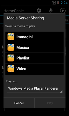 HomeGenie - screenshot