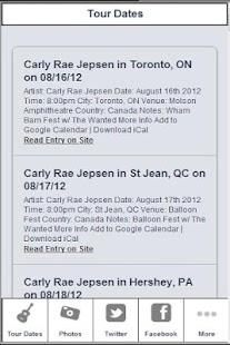 Carly Rae Jepsen Zone - screenshot thumbnail