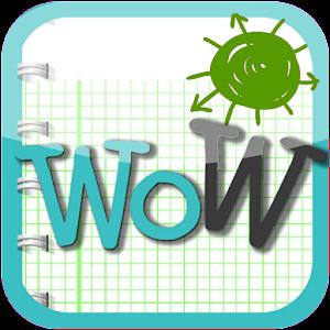 WoW英文單字王-高級 教育 LOGO-玩APPs