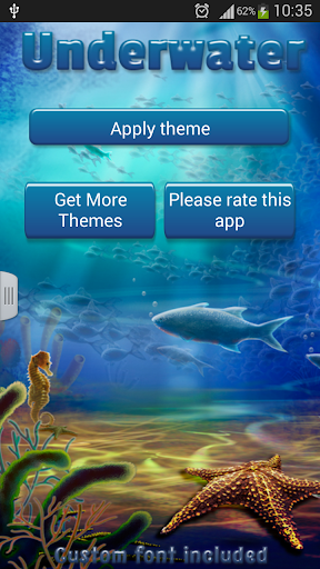 GO短信加强版水下