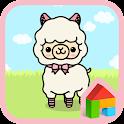 alpaca peanut dodol theme icon