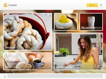Cooklet for tablets Screenshot 5