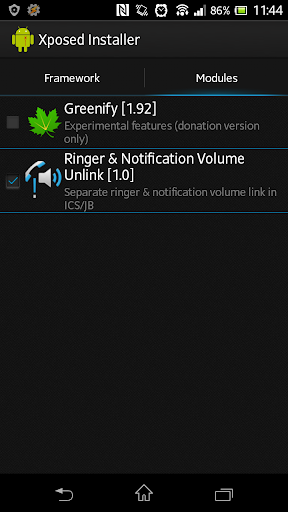 Ringer & Notification Unlink 1.60 screenshots 2
