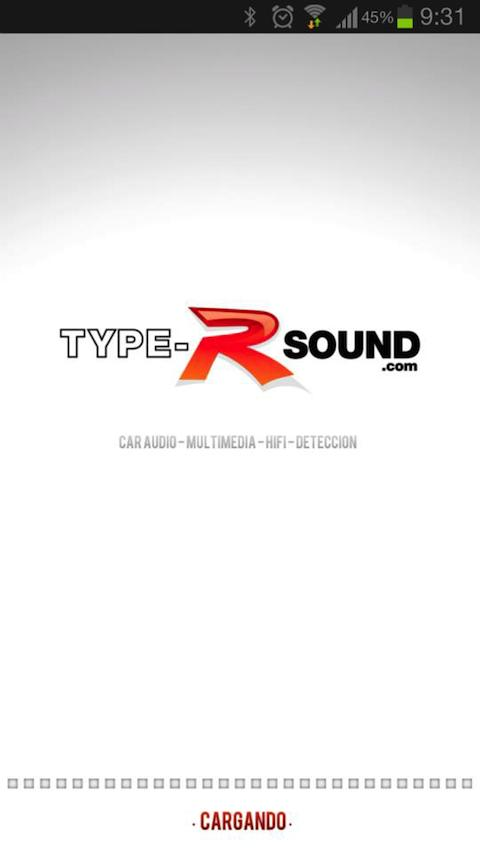 Type-R sound - screenshot