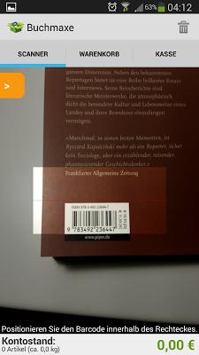 Buchmaxe - screenshot