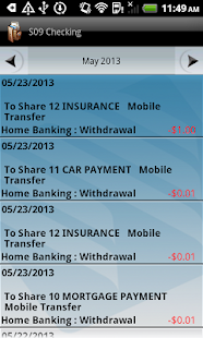 Wescom Credit Union Mobile - screenshot thumbnail