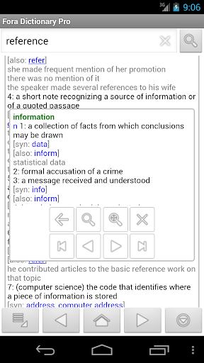 Fora Dictionary Pro