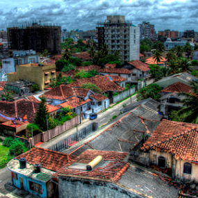 Colombo City view. by Kavindu Anthony - Buildings & Architecture Architectural Detail ( colombo, colombo hdr, cloudy day sky., wellawattha, sri lanka hdr, hdr, wallawattha, colombo wellawattha )