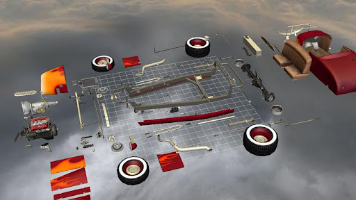 Car Disassembly 3D image   5