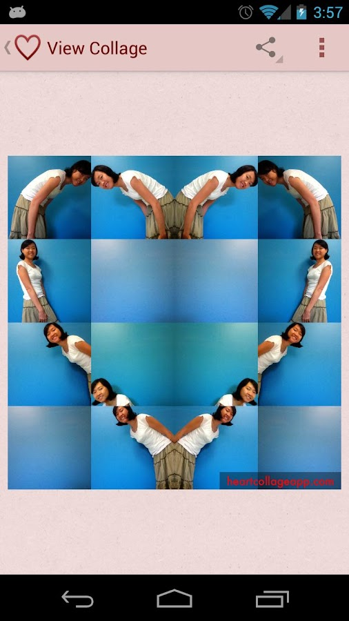 Heart Collage ♥ Body Shapes - screenshot