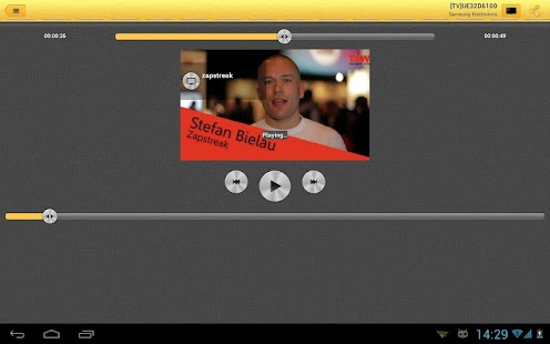 Shortbeam TV Media Player - screenshot thumbnail