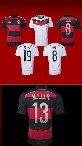 Germany 2014 Jersey Pack- uccw