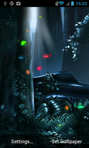 Fairy Forest HD Live Wallpaper