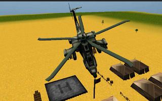 Screenshot of Combat helicopter 3D flight