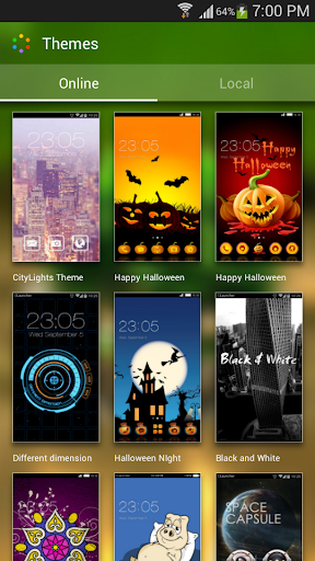 Green Nature HD Theme: Comic Android themes FREE APK Download