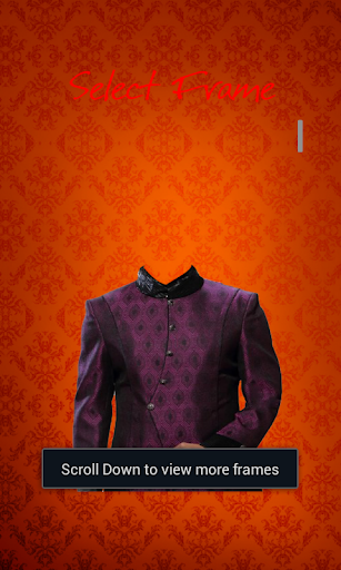 Men Sherwani Photo Editor