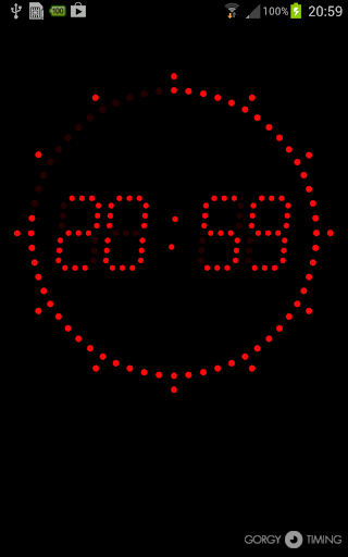 Horloge Gorgy Timing LEDI FREE