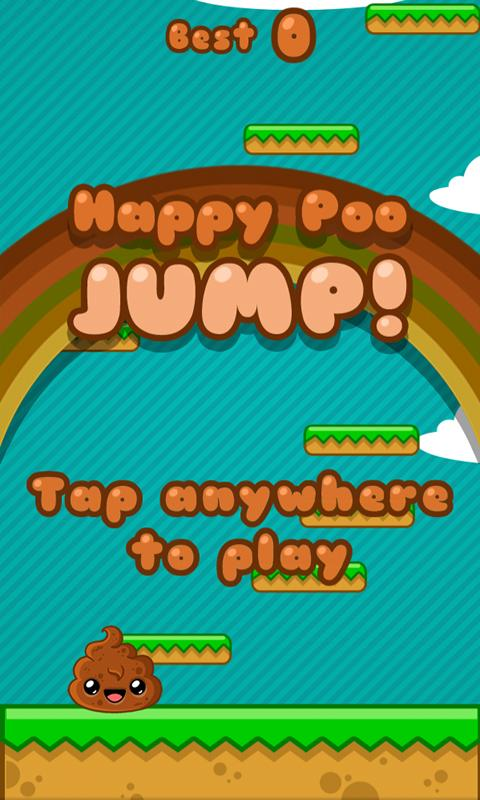 Happy Poo Jump - screenshot