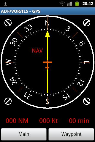 ADF VOR ILS - GPS