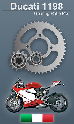 Ducati 1198 SR Gear Ratio Pro