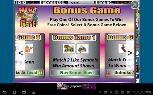 Mega Genie Slot Machine- screenshot thumbnail