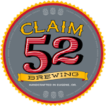 Logo for Claim 52 Brewing Co.
