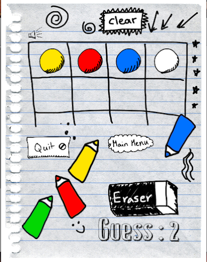 Color Your Doodle Right