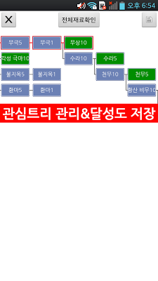 BnS성장트리 - screenshot