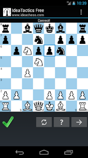 IdeaTactics free chess tactics- screenshot thumbnail