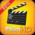 Xem videos:Phim HD, Clip icon